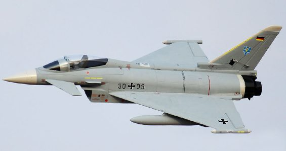 HobbyKing Eurofighter Typhoon V2 90mm EDF 960mm (P&P)