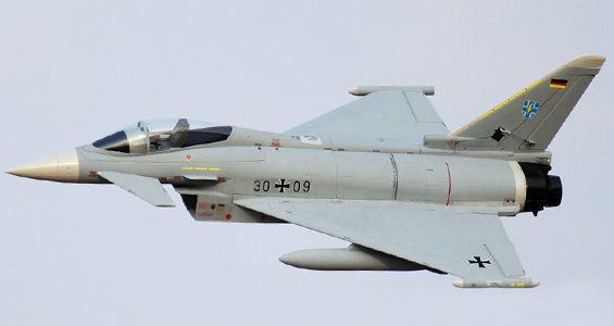 HobbyKing Eurofighter Typhoon V2 90mm EDF 960mm (P&P)