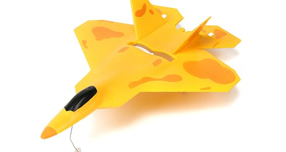 HobbyKing Micro F22 Jet Fighter RTF [VIDEO]