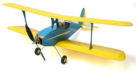 HobbyKing Le Petit Bi-Plane 810mm (PNP) [VIDEO]