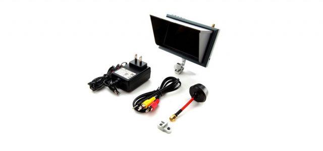 Spektrum 4.3″ Video Monitor, Sunshade & Mount