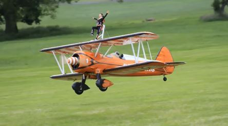 It's Showtime! RC Wing Walkers