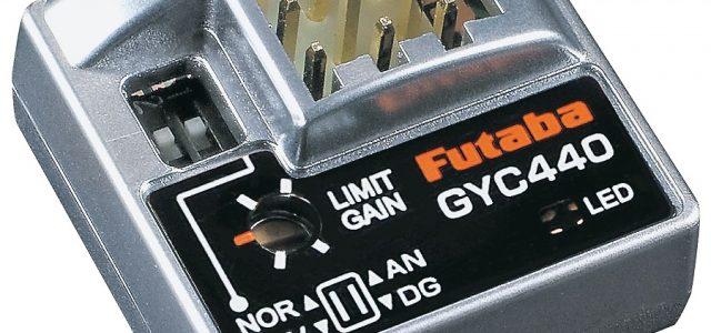Futaba GY440 Series Gyros & SBS-01C Current Sensor