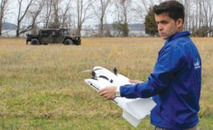 John Glezellis Flies SUAS (Small Unmanned Aircraft Systems)