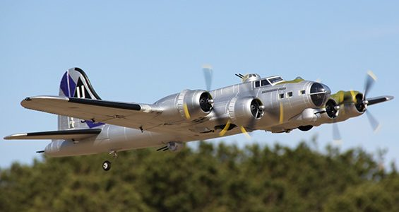 HobbyKing 1875mm B-17 F/G Flying Fortress (V2) PnP