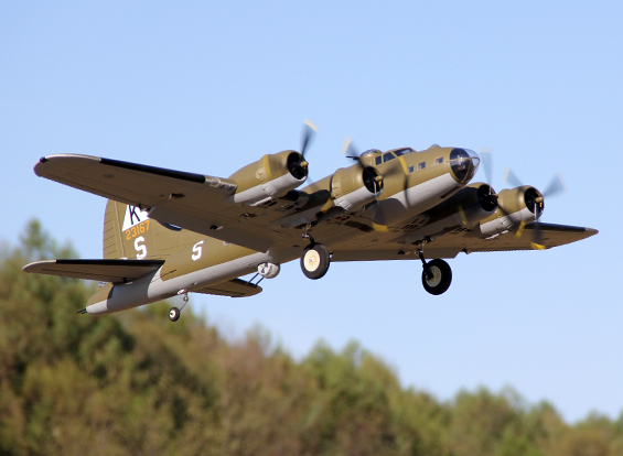 HobbyKing 1875mm B-17 F/G Flying Fortress (V2) PnP - Model