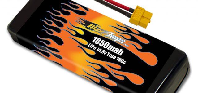 MaxAmps Lipo 1850mah 4s 14.8V Drone Racing Battery Pack
