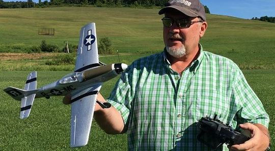 From the Flying Field — UMX P-51D Mustang