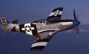 Soloing in a P-51 Mustang
