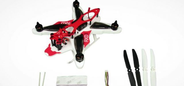 RISE RXD250 Racing Drone Setup [VIDEO]