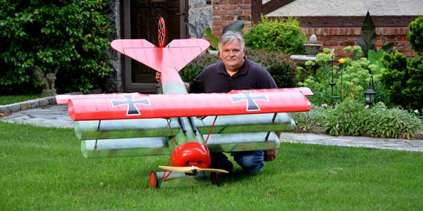 RC Plane Shock-Absorbing Landing Gear