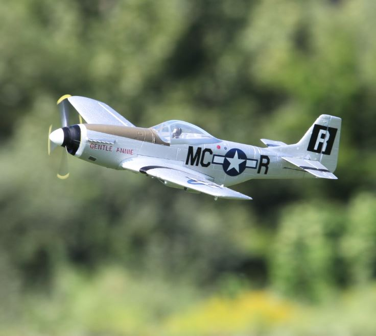 From The Flying Field Umx P 51d Mustang Giantscalenews Com