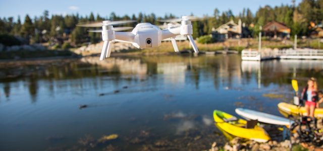 Yuneec Breeze Flying Selfie Camera