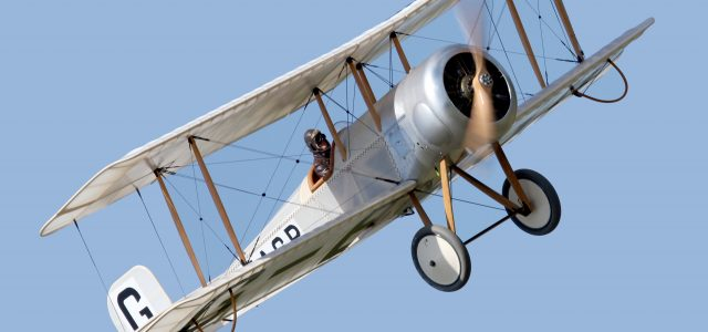 WW I Award Winner: Brian Perkins' Bristol Scout