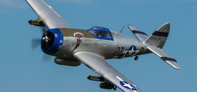 E-flite P-47D Razorback 1.2m BNF / PNP