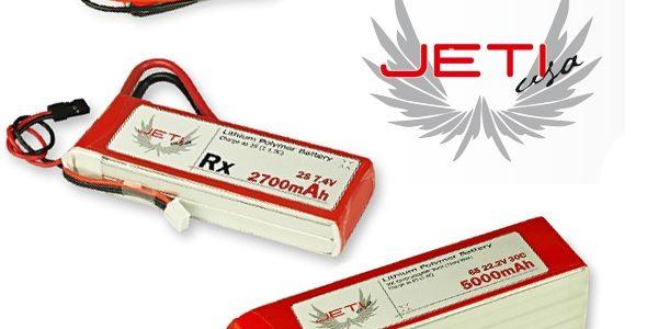 Jeti USA Pro Power Batteries
