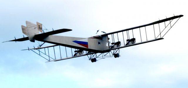 First Flight Success! — Sal Calvagna's Sikorsky Illya Muroments