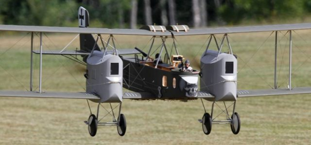 Best in Show — Gotha Bomber — 50th ORA WW1 RC Jamboree