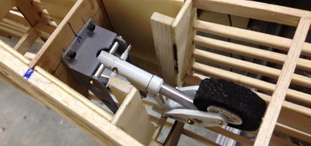 Workshop Build-Along — Douglas Skyraider Part 7 — Tailwheel