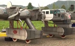 One of a Kind Soviet Bomber
