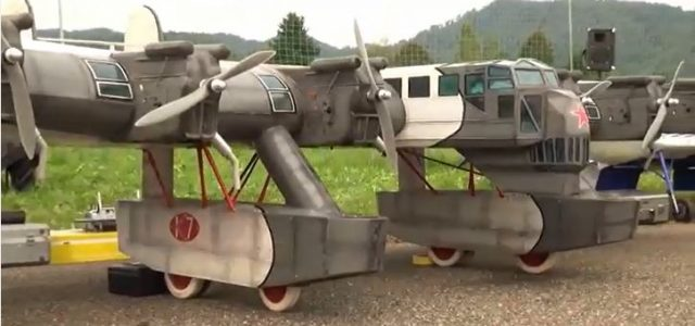 One of a kind Soviet bomber takes flight
