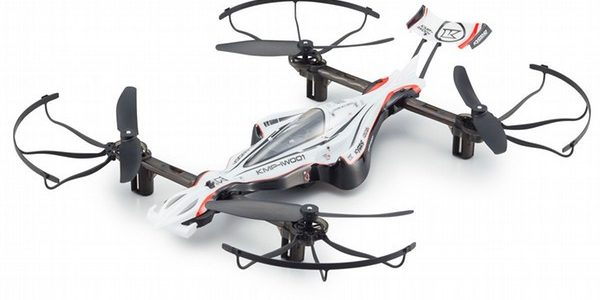 Kyosho G-ZERO Dynamic & ZEPHYR Force Drones [VIDEO]