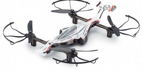 Kyosho G-ZERO Dynamic & ZEPHYR Force Drones [VIDEO]