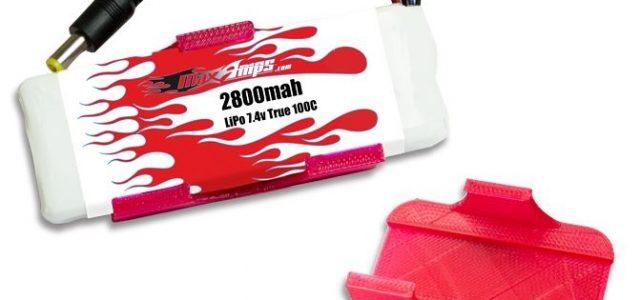 MaxAmps LiPo 2800 2S 7.4v Fat Shark Battery Upgrade