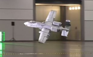 Giant 8-foot-span Indoor RC A-10