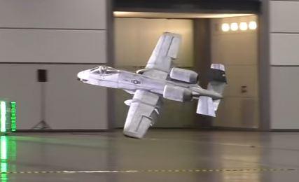 Indoor 8-foot-span A-10