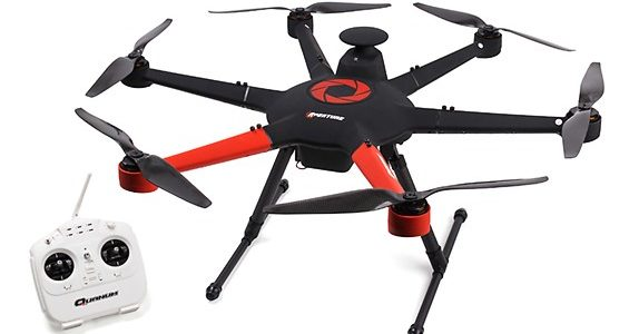 Aperture Hexacopter Aerial Photography Drone [VIDEO]