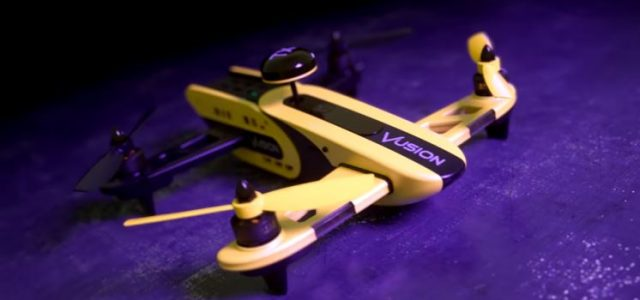 Drone Racing Made Easy With The RISE Vusion [VIDEO]