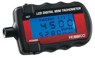 Hobbico Mini Digital Tachometer