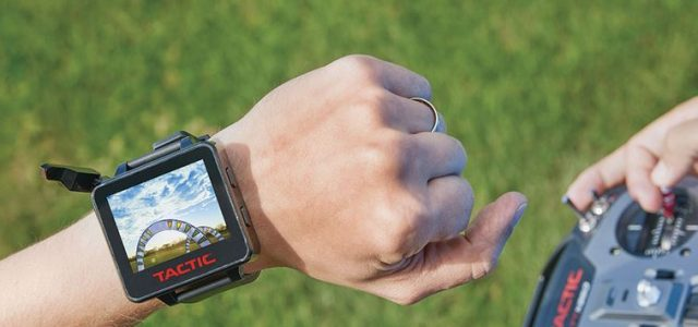 Tactic FPV Wrist Monitor With 5.8GHz Rx