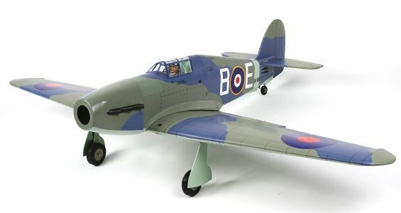 Hawker Sea Hurricane EP-GP Grey Version 1486mm (ARF)