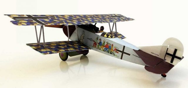 Microaces Fokker DVII Sieben Schwaben Limited Edition Kit
