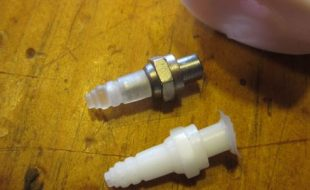 Resin Casting Scale Parts: Mass Production Spark Plugs
