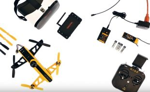Rise Vusion FPV Drone Racer Assembly [VIDEO]