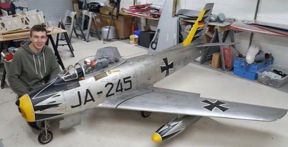 1/3-scale F-86