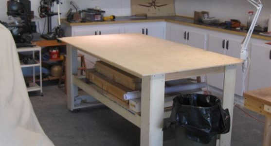 Rc Model Airplane Shop Table You Can Build Yourself