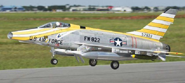 Road to Top Gun — Gabriel Pellegrini's F-100 Super Sabre