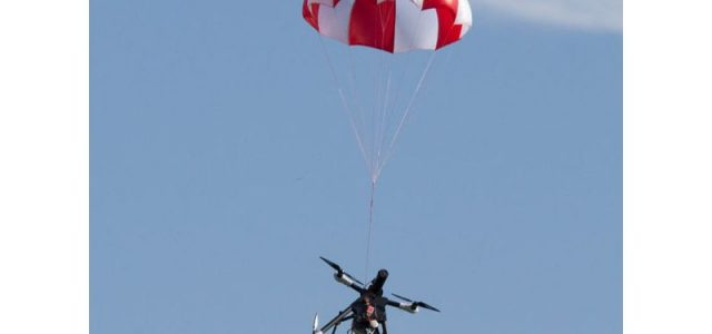 SafeTech Parachute Drone Rescue System [VIDEO]