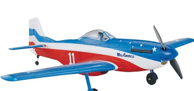 Tower Hobbies P-51D Mustang MkII Miss America Rx-R 40″