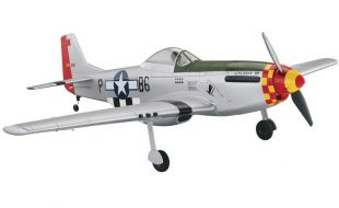 Tower Hobbies P-51D Mustang MkII Rx-R Silver 40″