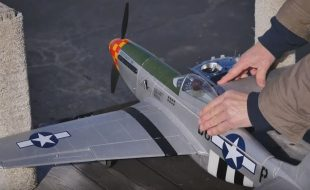 Tower P-51D Mustang Fighter [VIDEO]