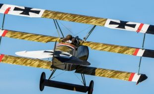 Road to Top Gun — Stephen Thomas' Fokker Dr.1 Triplane