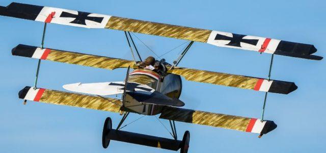 Road to Top Gun — Stephen Thomas' Fokker Dr.1 Triplane