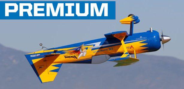 Hangar 9's 120cc Viking Model-12 Aerobatic Biplane — Test Flight Video