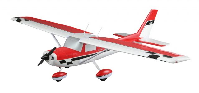 E-flite Carbon-Z Cessna 150 2.1m BNF Basic & PNP [VIDEO]