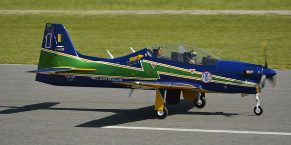 Road to Top Gun: Gérson Nissola's Turboprop Tucano